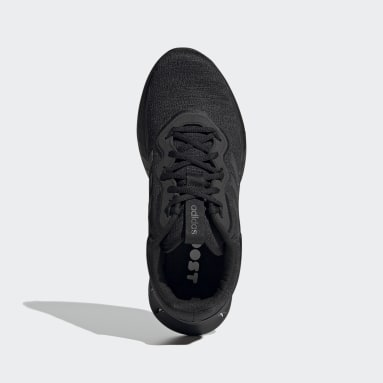 Men Sport Inspired Black Kaptir Super Shoes