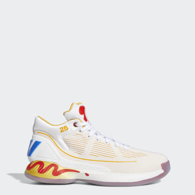 Men Basketball White D Rose 10 McDonald's Shoes