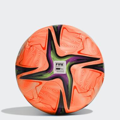 Men Football Orange Conext 21 Pro Beach Ball