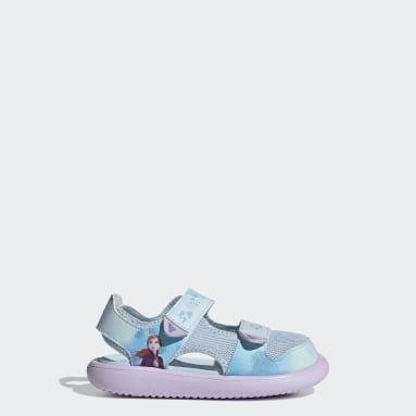 Çocuklar Yüzme Mavi Comfort Sandalet