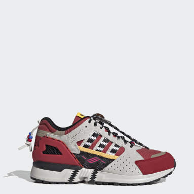 Men Originals Red ZX 10000 Shoes