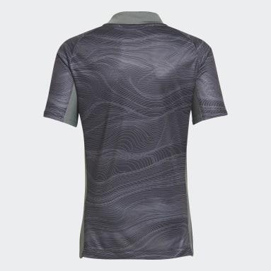 Camiseta portero primera equipación Real Madrid 21/22 Negro Niño Fútbol