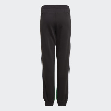 Pantalon Comfort Colorblock Noir Garçons Fitness Et Training