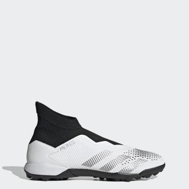 Zapatos de fútbol Predator Mutator 20.3 Sin Cordones Pasto Sintético Blanco Hombre Fútbol