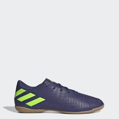 Women Futsal Blue Nemeziz Messi 19.4 Indoor Boots