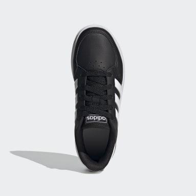 Kinderen Tennis Zwart Breaknet Schoenen