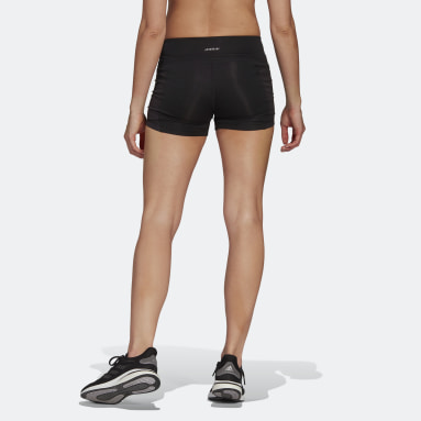 Frauen Running Own The Run kurze Tight Schwarz