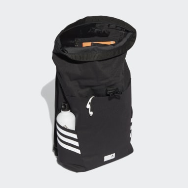 Gym & Training Black Classic Roll-Top Backpack