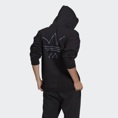 Heren Originals Zwart R.Y.V. Abstract Trefoil Hoodie