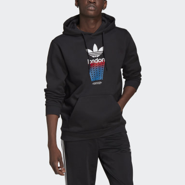 Originals London City Hoodie Schwarz