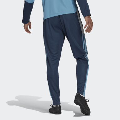Men Football Blue Tiro Tracksuit Bottoms