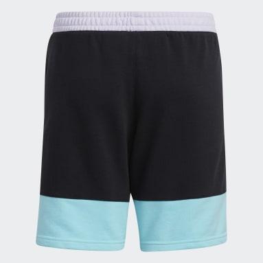 Kids 4-8 Years Basketball Black Lil Stripe Shorts