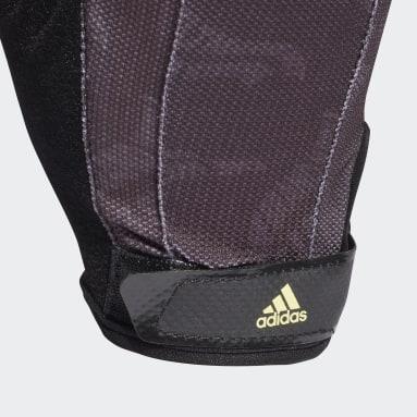 Fitness & Training Graphic Training Handschuhe Schwarz