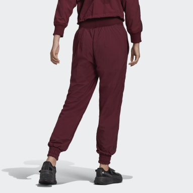 Women adidas by Stella McCartney Burgundy adidas by Stella McCartney College Sweat Pants