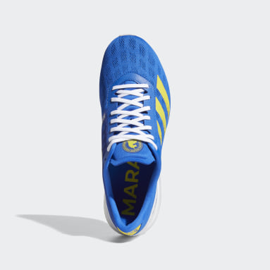 Men's Running Blue Adizero Boston 9 Shoes