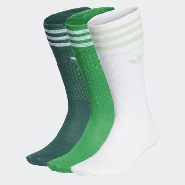 Calcetines largos Solid 3 Pares (UNISEX) Blanco Originals