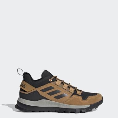 Men's TERREX Brown Terrex Hikster Low Hiking Shoes