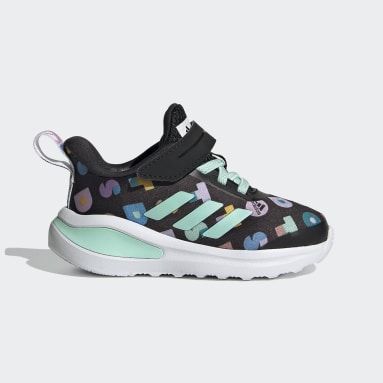 Infant & Toddler Running Black adidas FortaRun x LEGO® DOTS™ Shoes