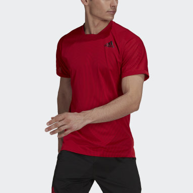 Men Tennis Red Tennis Primeblue Freelift T-Shirt