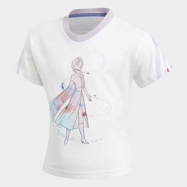 Children Training White Frozen Summer Set