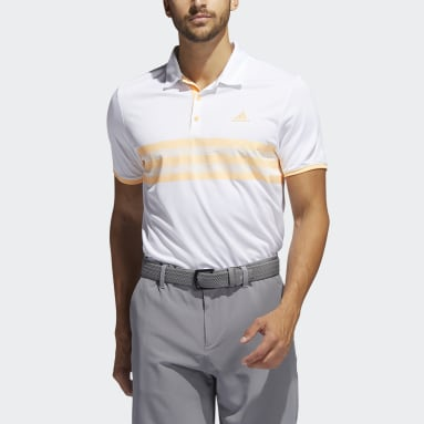 Men Golf White Core Polo Shirt