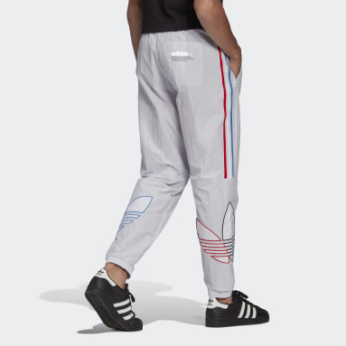 Herr Originals Grå Adicolor Track Pants
