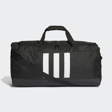 Training Siyah Essentials 3-Stripes Duffel Çanta - Büyük Boy