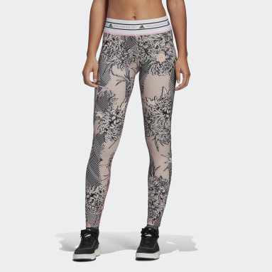 Women adidas by Stella McCartney Pink adidas by Stella McCartney Future Playground Tights
