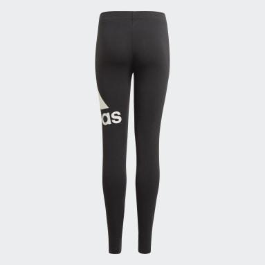 Dívky Sportswear černá Legíny adidas Essentials