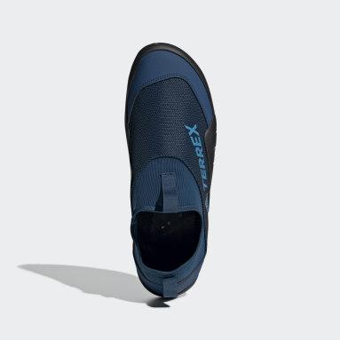 Outdoor Blue Terrex Climacool Jawpaw II Water Slippers