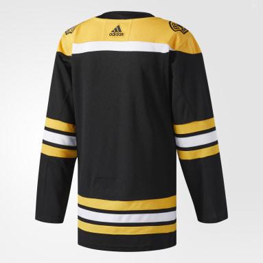 черный Оригинальная домашняя джерси Boston Bruins