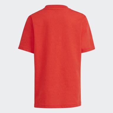 Kids Originals Red adidas SPRT Collection Graphic Tee