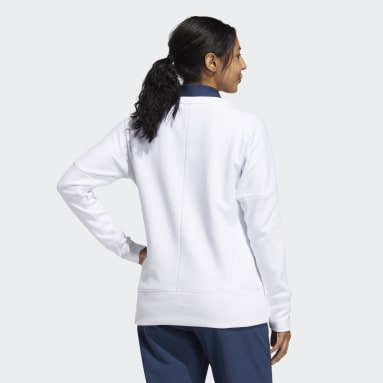 Women's Golf White Go-To Recycled Content Crew Sweatshirt