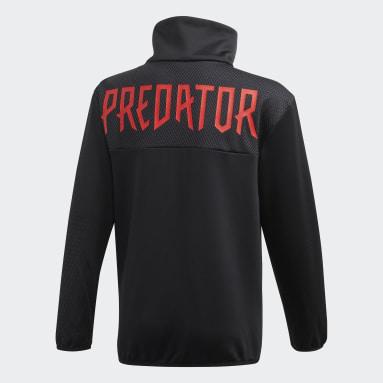 Youth 8-16 Years Gym & Training Black Predator Track Top