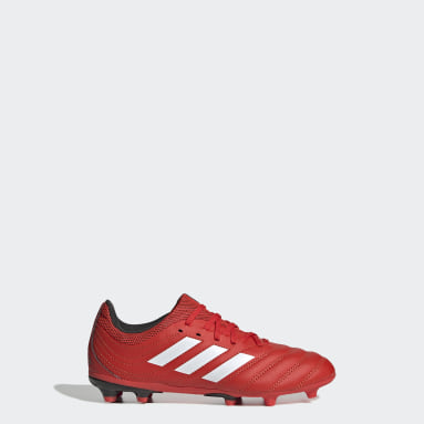 Kids 4-8 Years Football Red Copa 20.3 Firm Ground Boots