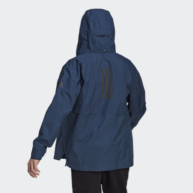 Men's Hiking Blue Traveer RAIN.RDY Rain Jacket