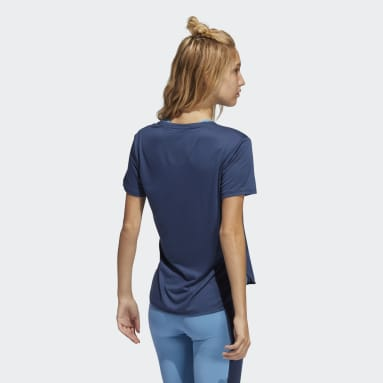 Women Training Blue Go To 2.0 Tee