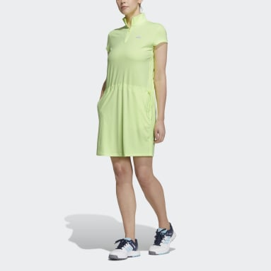 Women's Golf Yellow Dress