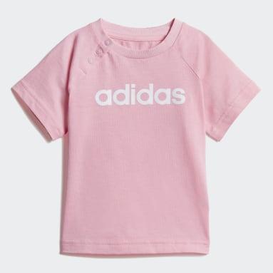 Conjunto Linear Summer Rosa Niña Sportswear