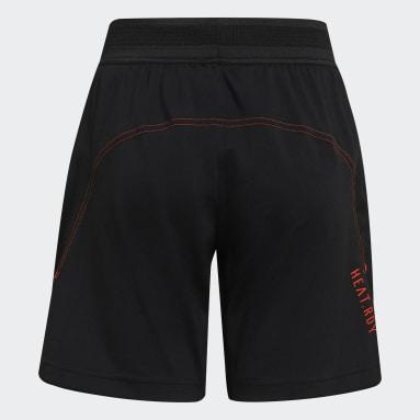 Pantalón corto HEAT.RDY Sport Negro Niño Gimnasio Y Entrenamiento