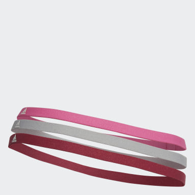 Cricket Pink Hairband 3 Pack
