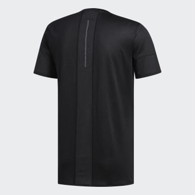 Camiseta 25/7 Rise Up N Run Parley Preto Homem Running