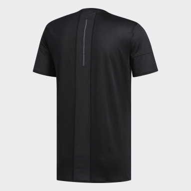 Polera 25/7 Rise Up N Run Parley Negro Hombre Running