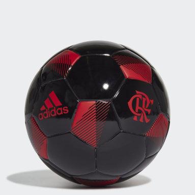 Minibola CR Flamengo Preto Homem Futebol