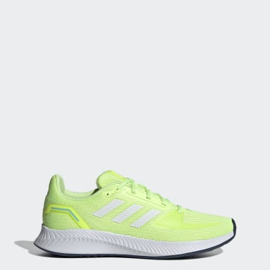 Women Running Yellow Run Falcon 2.0 Shoes