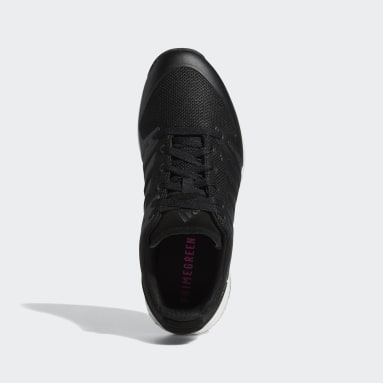 Golf Black EQT Primegreen Spikeless Wide Golf Shoes