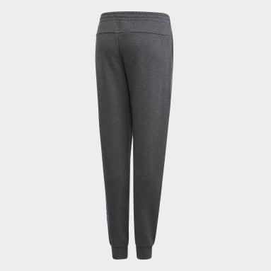 Girls Fitness Og Træning Grå Linear bukser