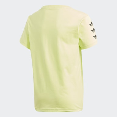Youth 8-16 Years Originals Yellow Trefoil T-Shirt