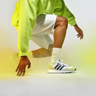 Originals สีขาว รองเท้า ZX 1K Boost