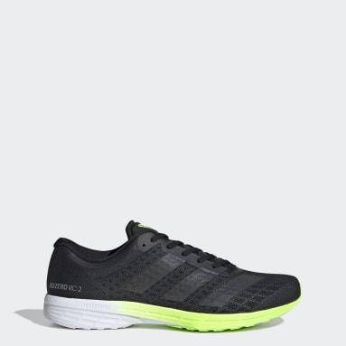 Erkek Koşu Siyah Adizero RC 2 Ayakkabı